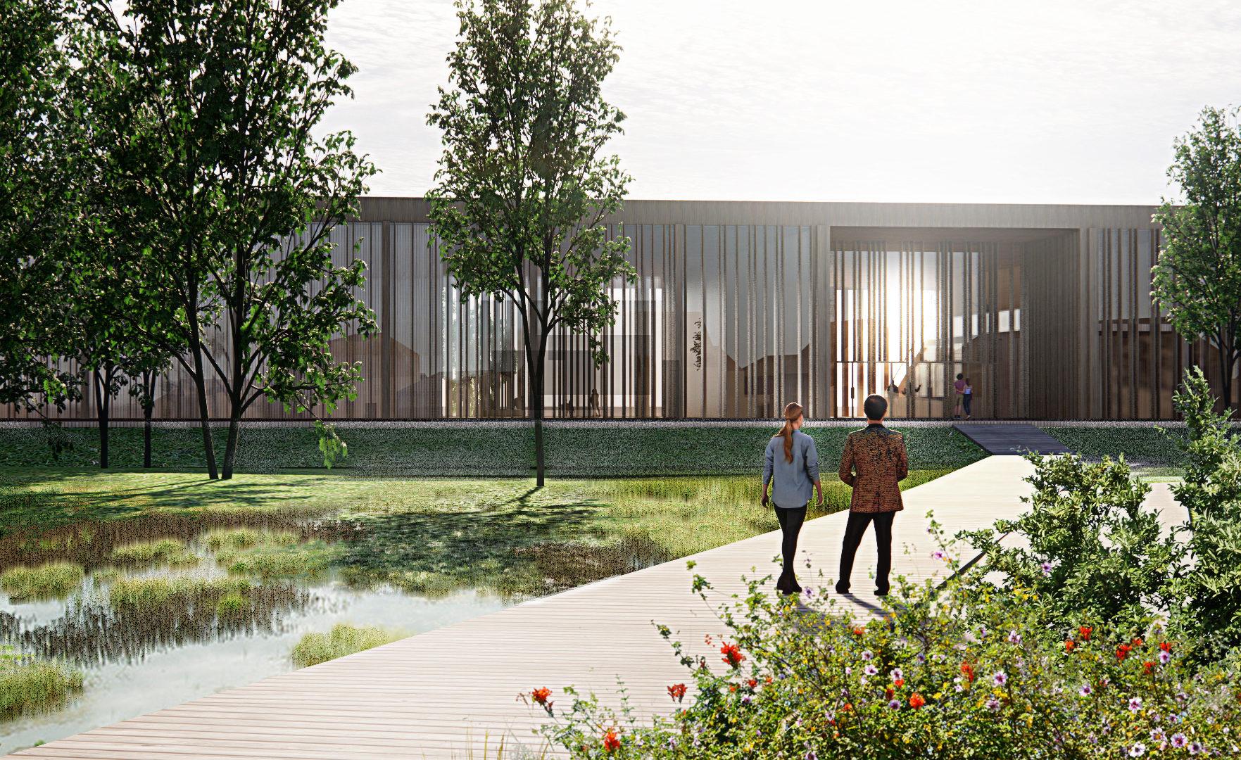 transparent facade nature