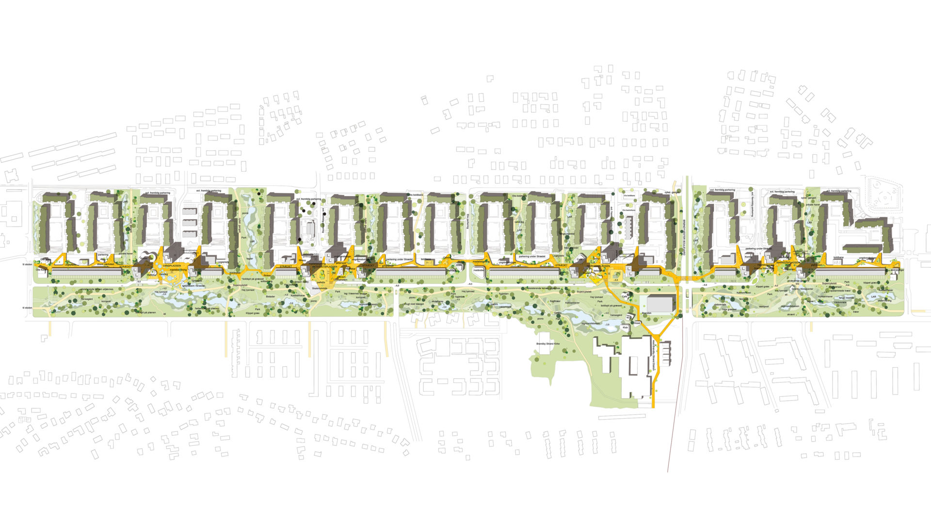urban plan green connections