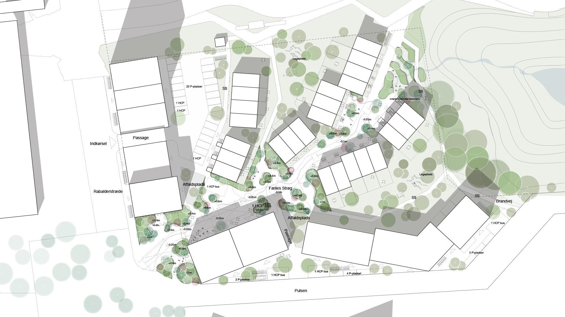 mixed-use urban area
