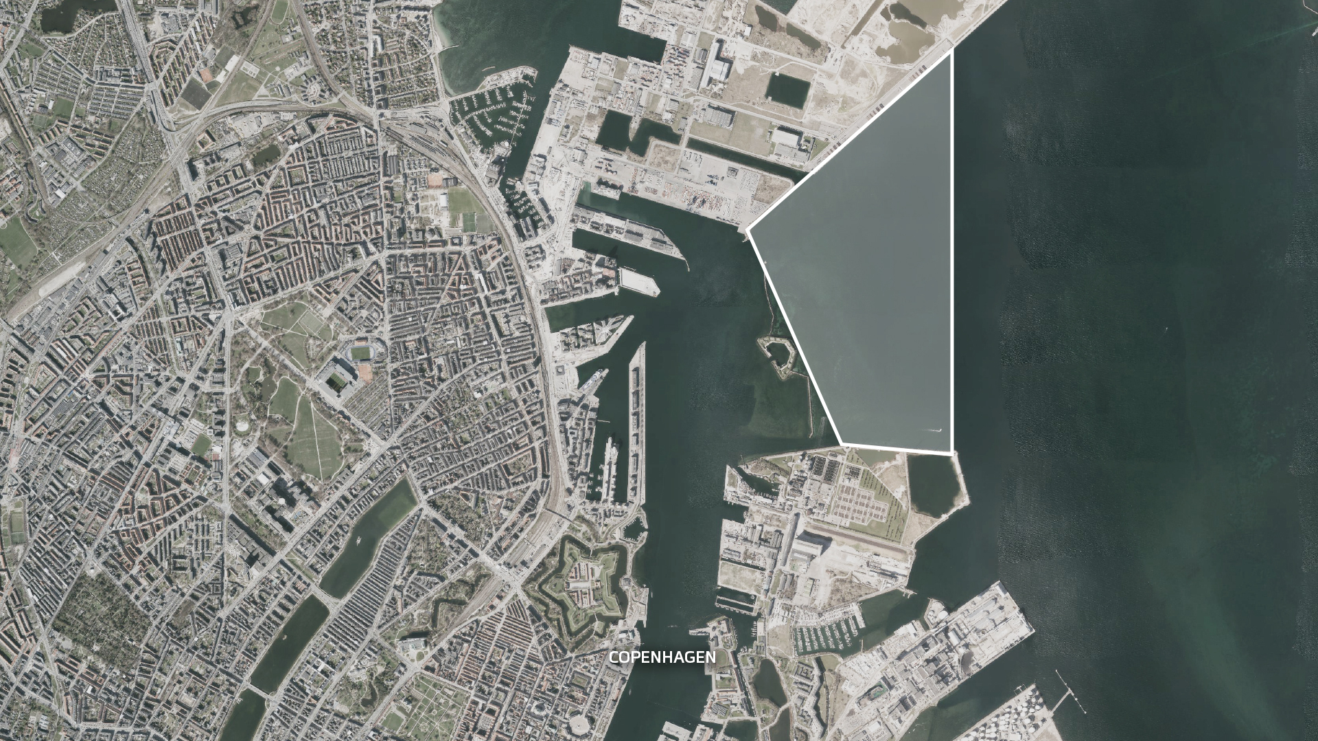 artificial island urban