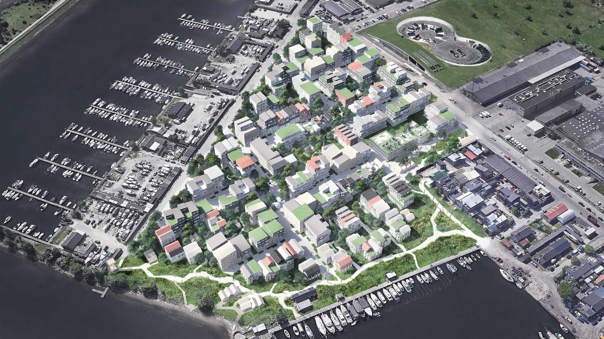 sustainable neighbourhood copenhagen