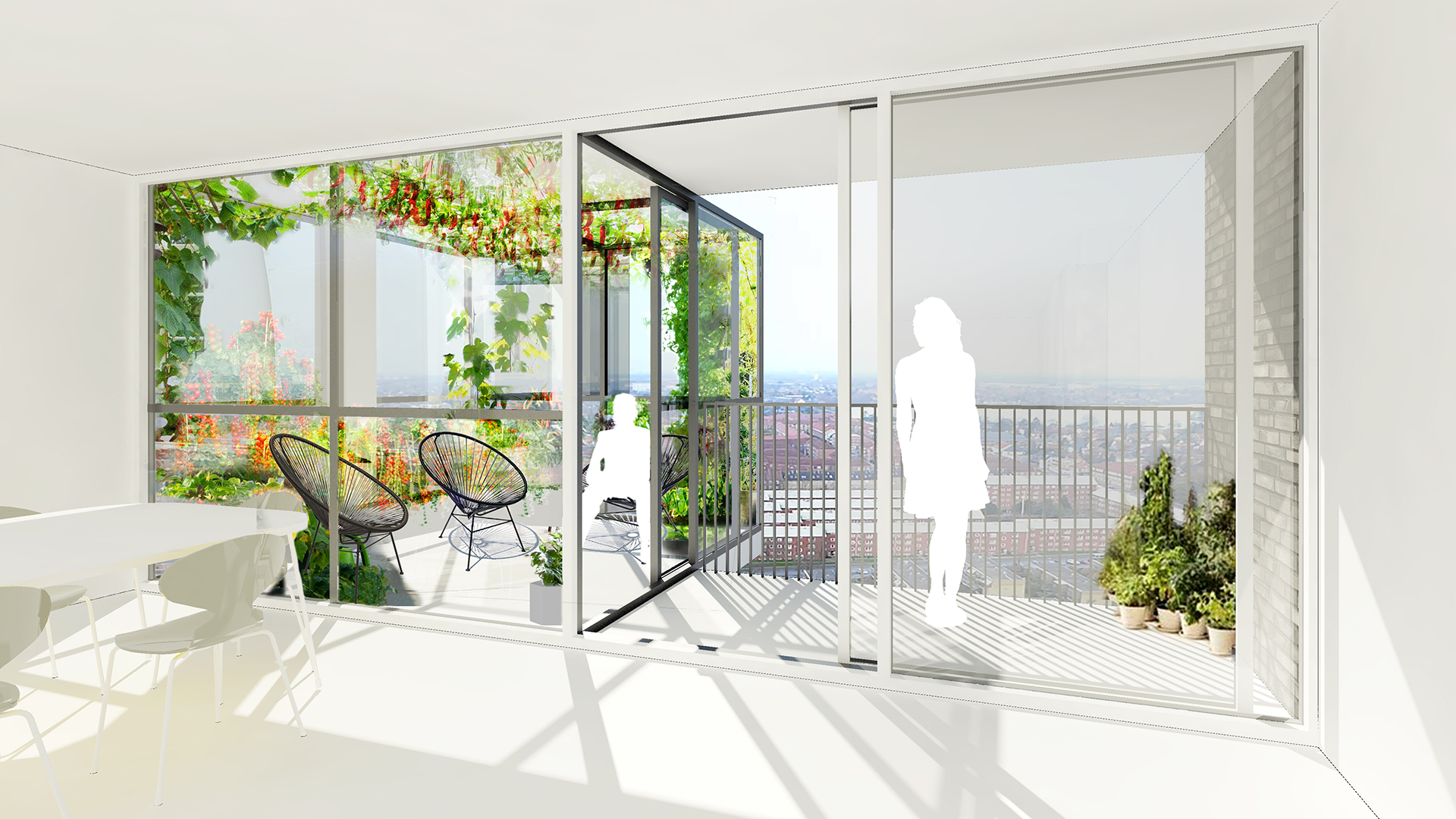 residential vertical farming architecture